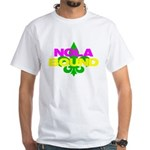 NOLA Bound White T-Shirt