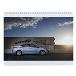ElantraXD Wall Calendar