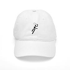 Tennis Silhouette Baseball Cap