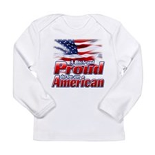 A Bitch and Proud to be an Am Long Sleeve Infant T