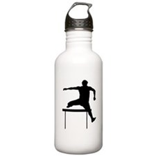 Hurdler Silhouette Water Bottle