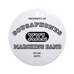 Property of Sousaphones Ornament (Round)