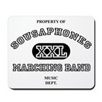 Property of Sousaphones Mousepad