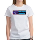 ONE GLOBAL COMMUNITY .com Tee