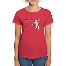 Party Like Rock Stars Women's Dark T-Shirt