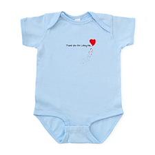 Thank You For Loving Me Infant Bodysuit
