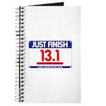 13.1 - Just FINISH bib Journal