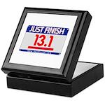 13.1 - Just FINISH bib Keepsake Box