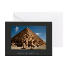 I Move Mountains Greeting Card
