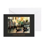 I Travel the World (Venice) Greeting Card
