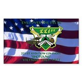 221st RAC Decal