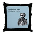 Googling Myself Results Throw Pillow
