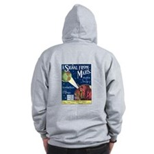A Signal From Mars Zip Hoodie