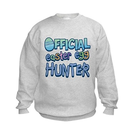 Easter Egg Hunter Kids Sweatshirt