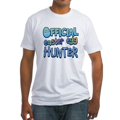 Easter Egg Hunter Fitted T-Shirt