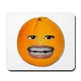 Orange Face Mousepad