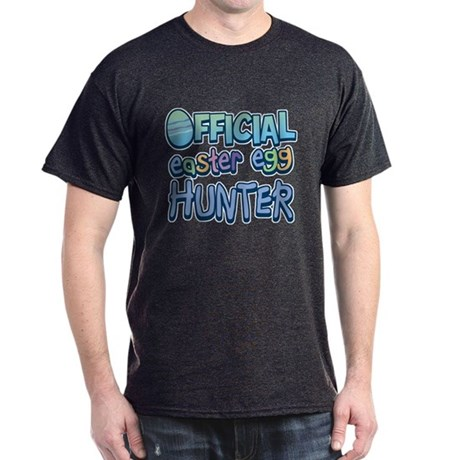 Easter Egg Hunter Black T-Shirt