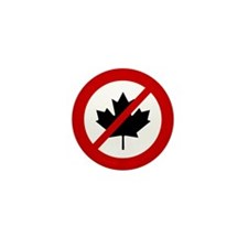 Anti Canada Mini Button (100 pack)