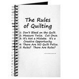 The Rules of Quilting Journal