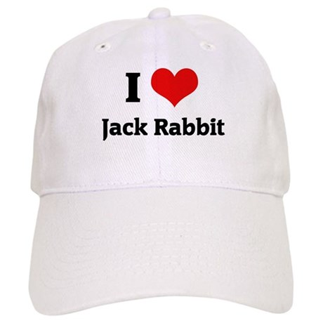 I Love Jack Rabbit Cap