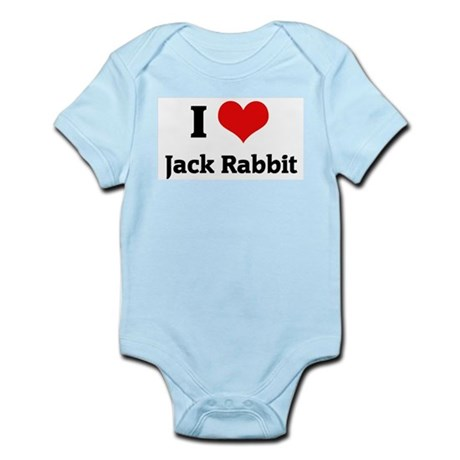I Love Jack Rabbit Infant Creeper