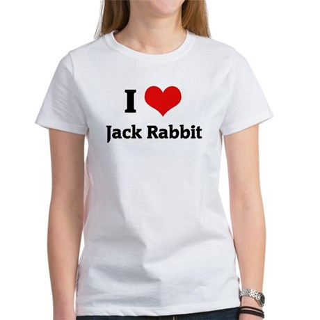 I Love Jack Rabbit Women's T-Shirt