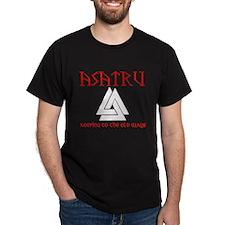 Asatru Black T