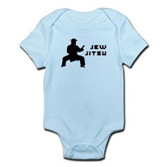 Jew Jitsu Infant Bodysuit