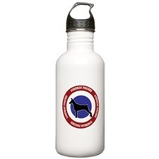 Doberman Pinscher Bullseye Sports Water Bottle