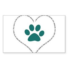 He is your friend..Teal Decal