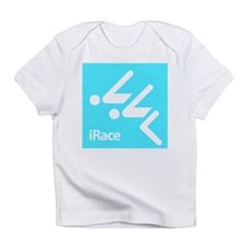 Competitive Swimming iRace Silhouette Infant T-Shi
