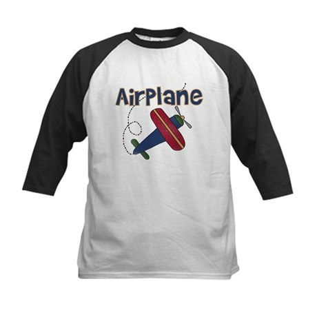 Airplane Kids Baseball Jersey