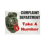 Complaint Department Rectangle Magnet