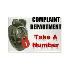 Complaint Department Fridge Magnet