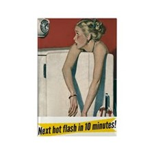 Hot Flashes Fridge Magnet