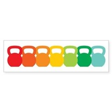 Kettlebell Spectrum Bumper Sticker