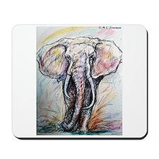 Wildlife, Elephant, Beautiful Mousepad