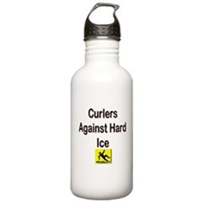Curlers Against Hard Ice Water Bottle
