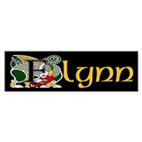 Flynn Celtic Dragon Bumper Bumper Sticker