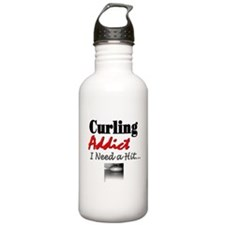 Curling Addict (Hit) Water Bottle