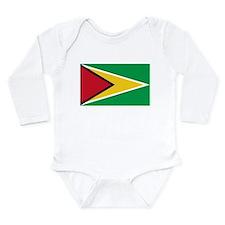 Cute Guyana Long Sleeve Infant Bodysuit