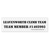 Leavenworth Climb Team Bumper Sticker