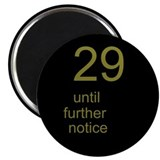 "30th Birthday 2.25"" Magnet (10 pack)"