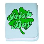 Irish Boy baby blanket