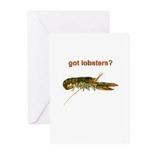 Got Lobster? Greeting Cards (Pk of 20)