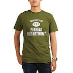 Pishing Dept Organic Men's T-Shirt (dark)