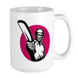 cricket batsman pointing Mug