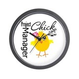 Project Manager Chick Wall Clock