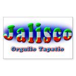 Orgullo Tapatío Sticker (Rectangle 50 pk)