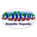 Orgullo Tapatío Sticker (Oval 10 pk)